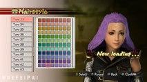 Samurai Warriors 4 Character Creation
