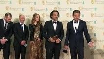 Leonardo Dicaprio bags a BAFTA