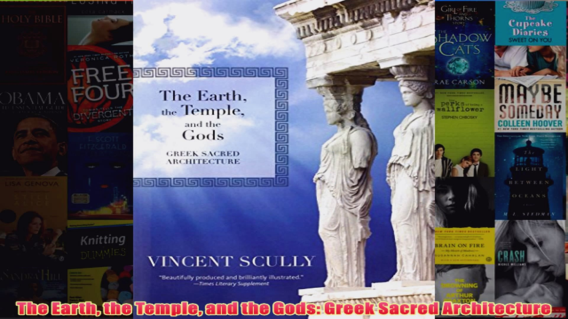 Download PDF  The Earth the Temple and the Gods Greek Sacred Architecture FULL FREE