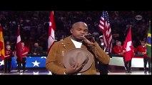 NE-YO Sings 'The Star Spangled Banner'  NBA All-Star Game Toronto (2016)