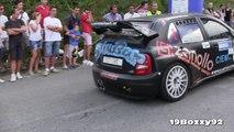 Skoda Fabia WRC Tribute Pure Sounds, Launch Controls, Anti Lag Backfires & More