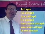 Conjugaison au passé composé de 40 verbes : auxiliaire + participe passé