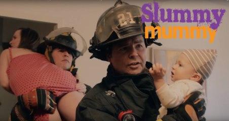 """Firemen"" | SLUMMY MUMMY | Ep 6 | MomCaveTV Funny Mom New Baby Sleep Training Baby Sleep Newborn"