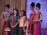 Lao NEWS on LNTV: Lao Grand Fashion Show 2014 in Vientiane showcases Lao silks and styles.