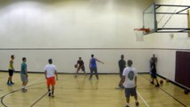Hoopin with CJ & Isaiah Rivera! Head at Rim EastBay Backboard in game