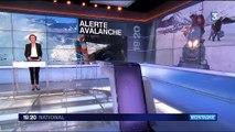 Alpes : les risques d'avalanches sont élevés