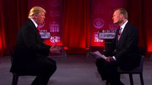 Donald Trump criticizes President George W. Bush on foreign policy