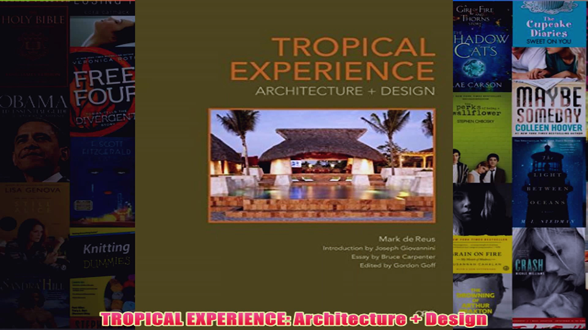 Download PDF  TROPICAL EXPERIENCE Architecture  Design FULL FREE