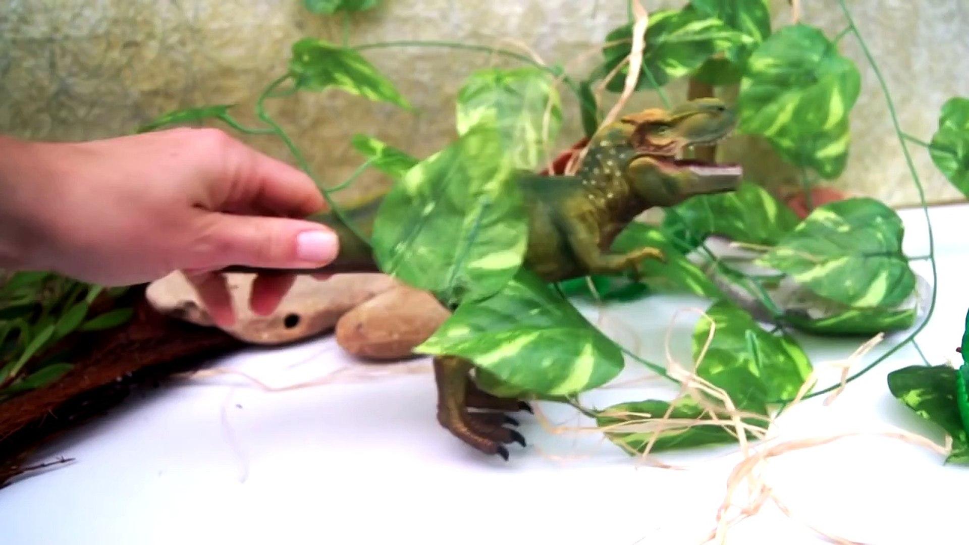 Динозавры. Тиранозавр сошел с ума! Игрушки. Мультик для детей.