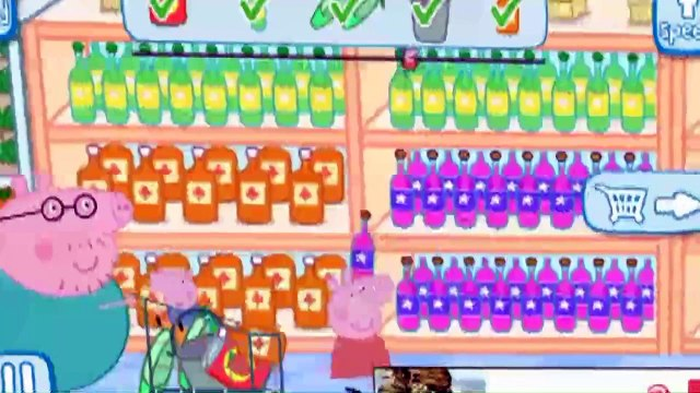 Peppa Pig||Peppa Pig Shopping||Peppa Pig English Episodes