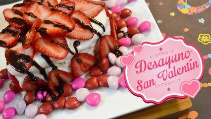 Desayuno San Valentín   Comamos Casero