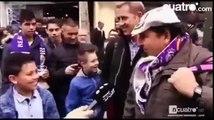 Boy named 'Zinedine Zidane Junior' met his idol and namesake Zizou