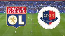 Le résumé du match Lyon - SMCaen
