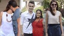 Bollywood Celebs At Salman Khan's Sister Arpita Khan's Baby Shower Event, Mumbai