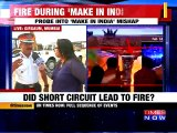 Did Short Circuit Led To Fire at Make In India Event?