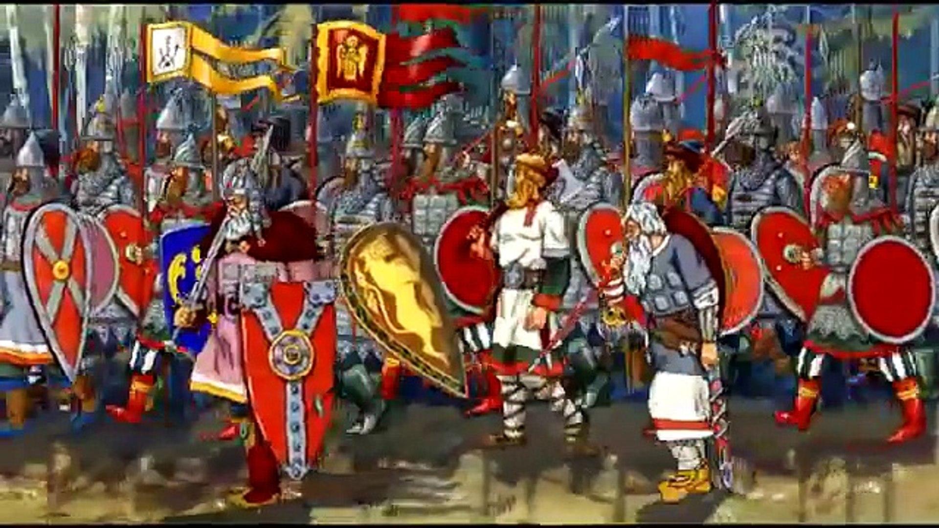 Добрые русские мультфильмы Твой крест, Пересвет,Ослябя и Это мой выбор .