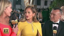 Jennifer Lopez Stuns on Golden Globes Red Carpet, Previews Vegas Show Fashion