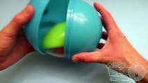 Learn Colours with Surprise Nesting Eggs! Opening Surprise Eggs with Kinder Egg Inside! Lesson 11