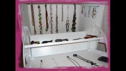Comment fabriquer un meuble à bijoux personnalisé ?