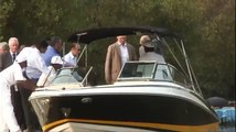 The Prince and Duchess in India: The Prince visits a mangrove conservation project in Mumbai