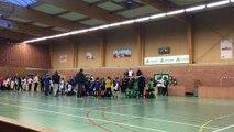 14/02/16 : U11 à Achicourt (remise de la coupe à Enzo)