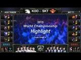 [게임코치] 2015 롤드컵 결승 하이라이트 SKT vs KOO #04 (LoL World Championship 2015 Grand Final Highlight)