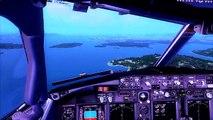 HD - FSX - PMDG 777X Arrival at KMIA (Read Description) - video