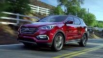 2017 Hyundai Santa Fe Sport 2.0T AWD - Driving Video