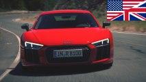 Audi R8 Test 2016 V10 Plus 5.2 FSI QUATTRO (610PS) english US UK - #ilovecars