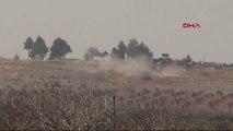 Kilis - Suriye'de Ypg Bölgesinden Ateş Açıldı, Obüsler Karşılık Vermeye Başladı