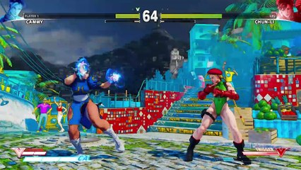 SFV  Character Introduction Series - Cammy de Street Fighter V
