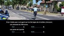 Nouvelle épreuve du code de la route - Sensibilisation aux conséquences des infractions au code de la route