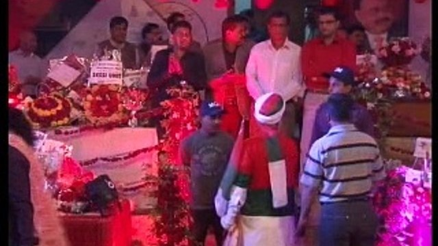 Part 1: MQM Quaid Altaf Hussain address to workers on Valentines Day