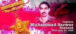 Pak Army-Capt Raja Muhammad Sarwar Shaheed Nishan e Haider- P3-Pak Army