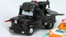 Disney Pixar Cars Parody on Star Wars in a Radiator Springs Darth Vader, Jedi, Stormtrooper