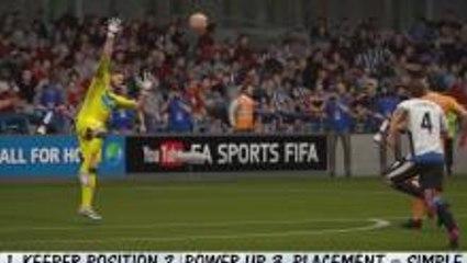 FIFA 16 Shooting Tutorial: Score On Chip Shots