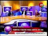 Pampita y Nacho Viale juntos en USA