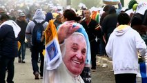 Pope Francis receives a warm welcome from Chiapas