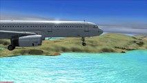 FSX A321 ZĞ 20L ISL Landing - video dailymotion