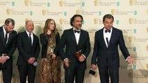 LEONARDO DICAPRIO EN SALA DE PRENSA - PREMIOS BAFTA 2016