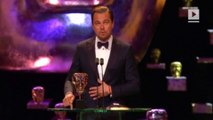 Leonardo DiCaprio Parties with Revenant Costars After BAFTAs Sweep