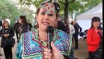 Inauguration Place Slimane Azem à Paris- Une kabyle nous chante une chanson de Da Slimane !