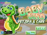 Baby Dino Wonderful Pet Spa & Care-Fun Baby Caring Games