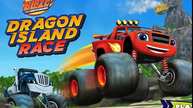 Blaze and the Monster Machines. Blaze Dragon Island race.