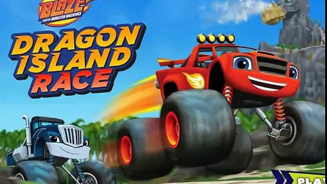 Blaze and the Monster Machines. Blaze Dragon Island race.