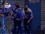 Shoaib Malik Hit 5 Sixes on 5 Balls Including Muhammad Amir in Karachi Kings Concert