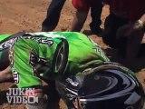 Motocross Backflip Crash