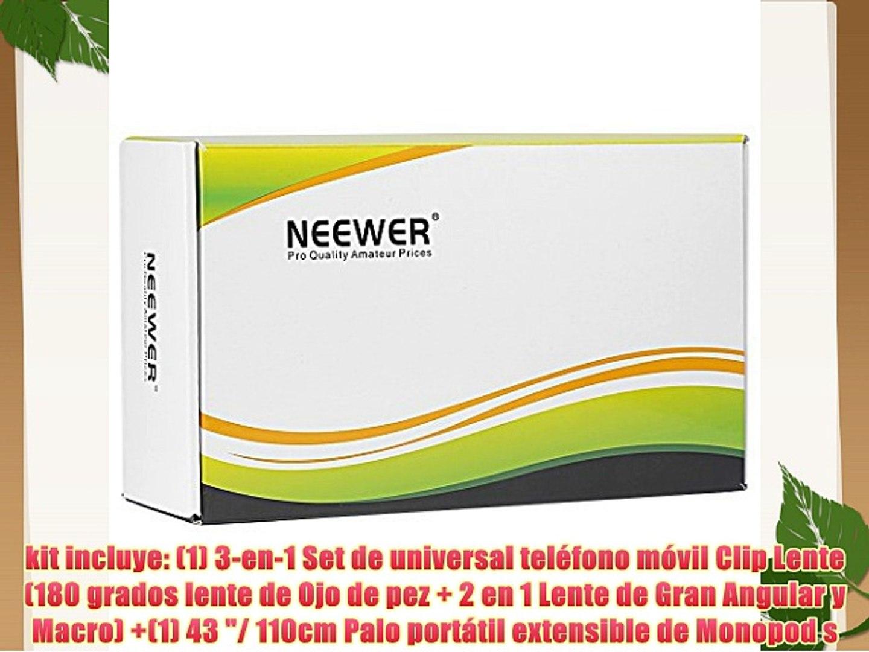 Neewer® kit de Autorretrato Self Portrait de cámara teléfonos para Cámaras Compactas y Smartphones