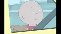 Caillou stared outside and stared outside and stared outside and stared outside and