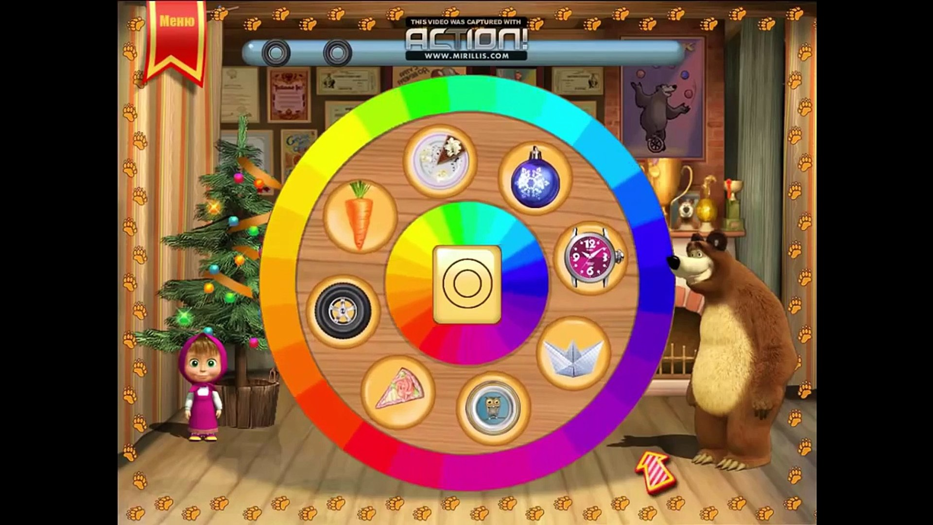 Masha And The Bear Games For Kids Compilation Education Games